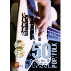 50 lignes de basse pop folk