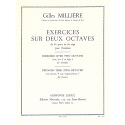 Exercices sur 2 octaves