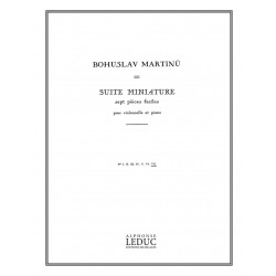 Bohuslav Martinu  Suite...