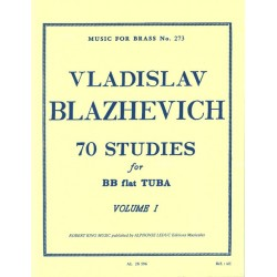 70 Studies for Bb Flat Tuba...