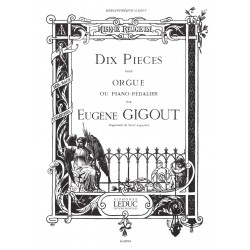 10 Pieces Recueil Orgue
