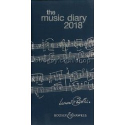 Music Diary 2018 - Blue