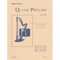 Quatre preludes pour harpe