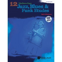 12 Medium-Easy Jazz, Blues...