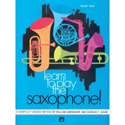 Learn To Play Saxophon Vol 2