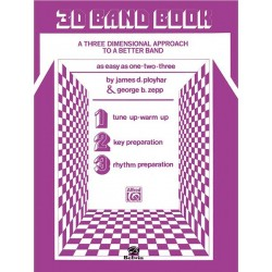 3-D Band Book (Flute)