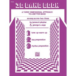 3-D Band Book (Drums)