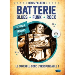 Batterie: Blues, Funk, Rock