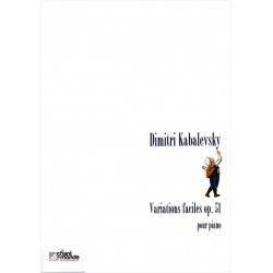 Variations faciles op. 51