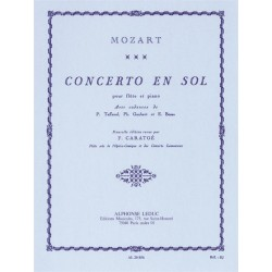 W.A. Mozart Concerto In G