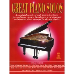 Great Piano Solos - The Red...