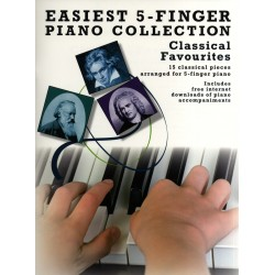 Easiest 5-Finger Piano...