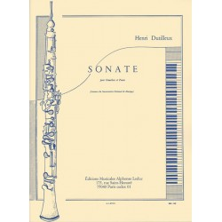 Sonate pour Hautbois et Piano