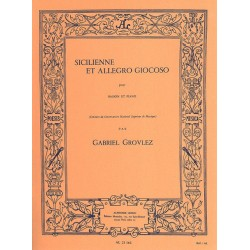 Sicilienne and Allegro Giocoso