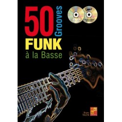 50 Grooves Funk Basse Bass...