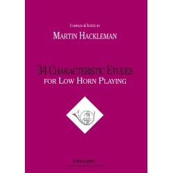 34 Characteristic Etudes