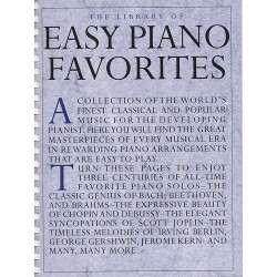 The Library Of Easy Piano...