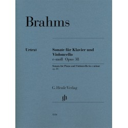 Sonata In E Minor Op. 38...